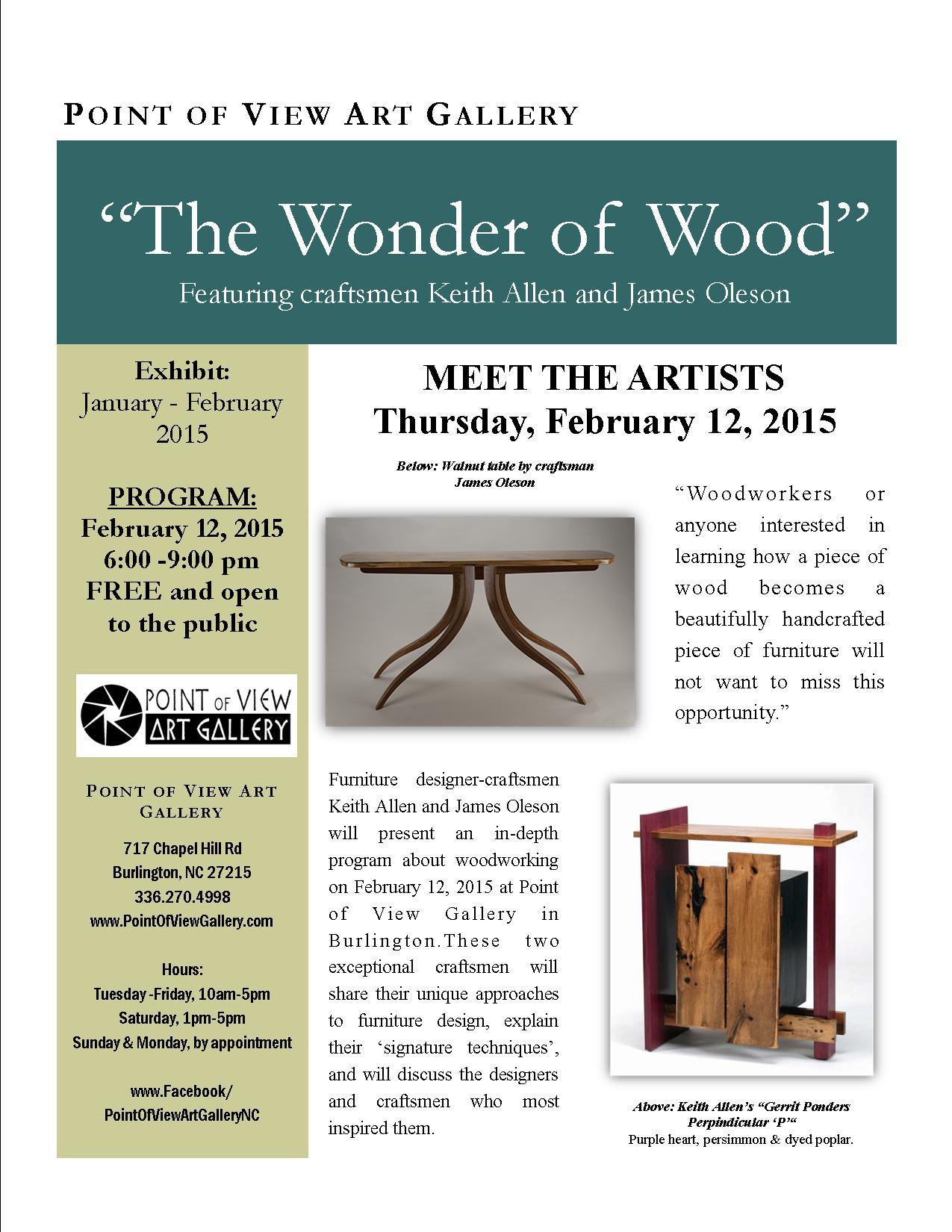 The Wonder of Wood