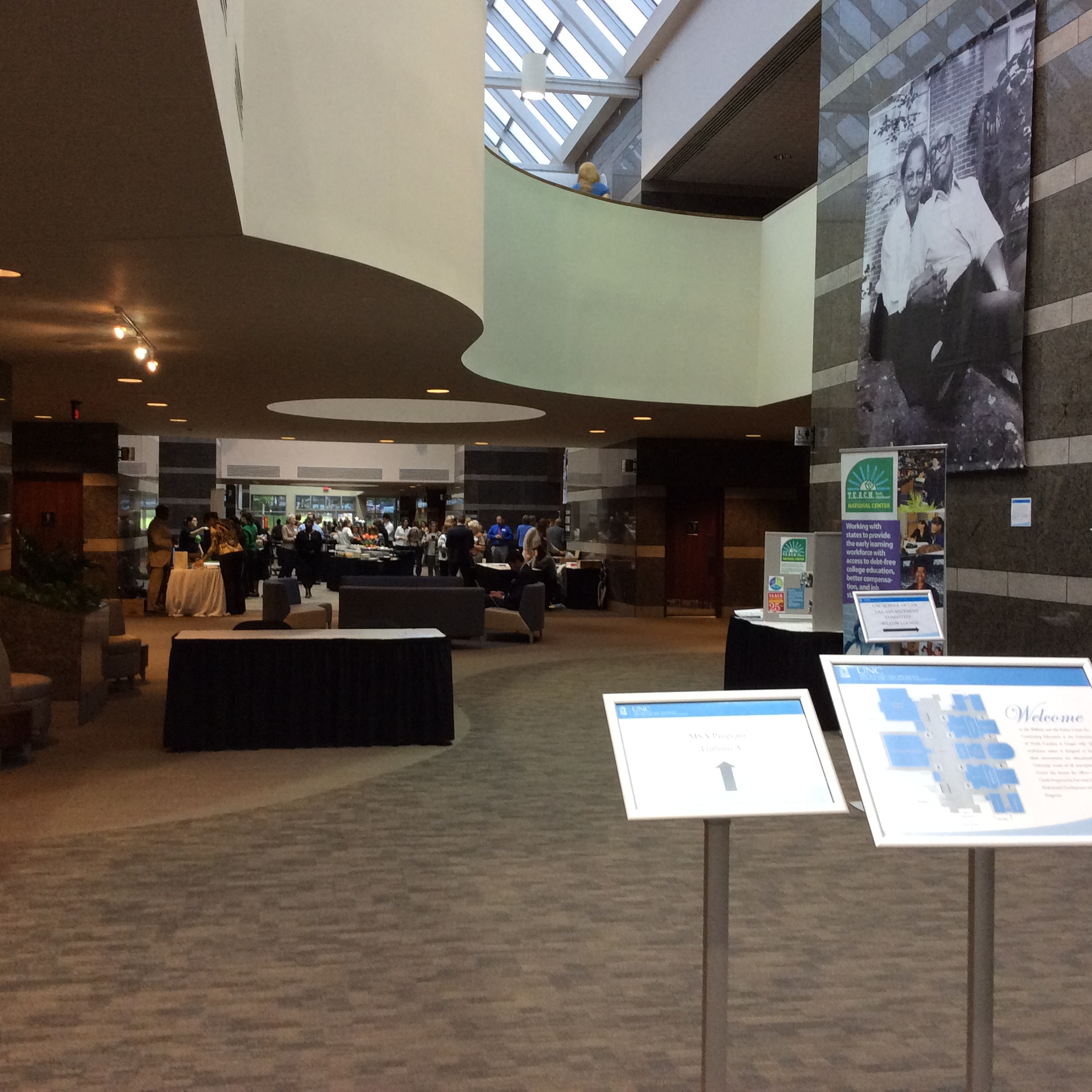 All Guild Exhibit at UNC-Chapel Hill's Friday Center for Continuing Education