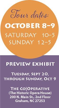Tour Dates October 8-9