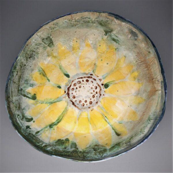 Sunflower Bowl by Deb Barnett