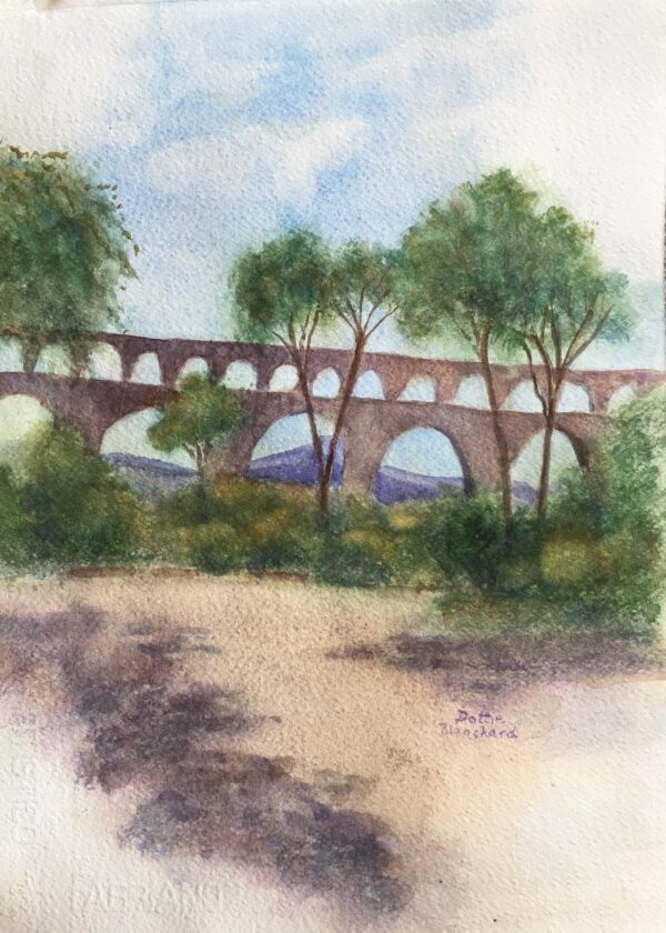 Pont du Gard by Dottie Blanchard