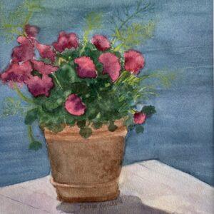 Dockside Flowers by Dottie Blanchard