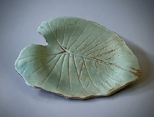 Leaf_Plate by Jan Holloman